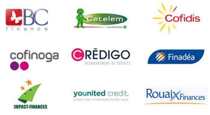 Les organismes de crédit